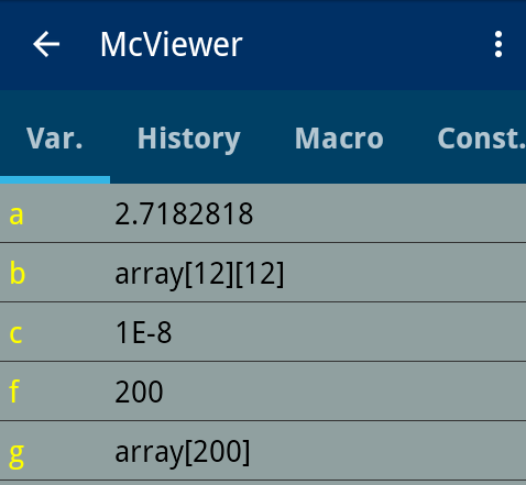 variableView
